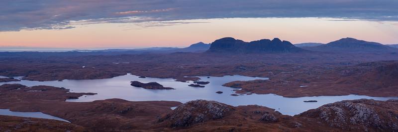 Loch Sionasgaig and Suilven