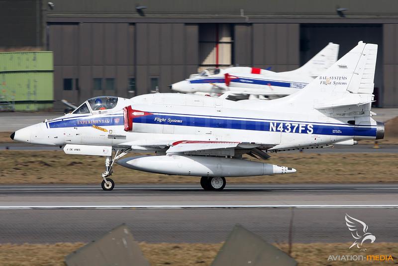 BAe Systems / McDonnell Douglas A-4N Skyhawk / N437FS