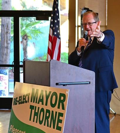 Re-Elect Mayor Jerry Thorne Breakfast 2018