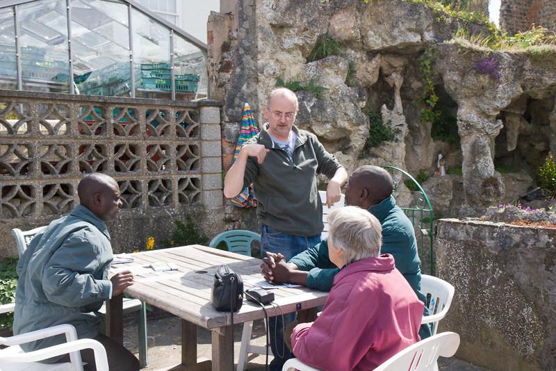 Visit to the Emmaus Community, Brighton