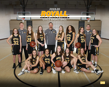 Royall girls basketball GBB1920