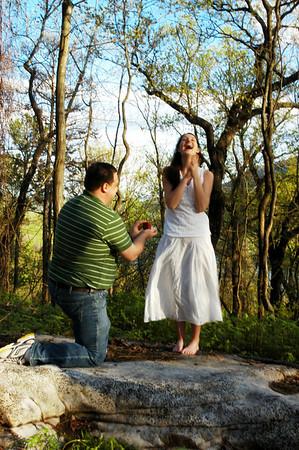 Josh & Jessica's actual engagement!