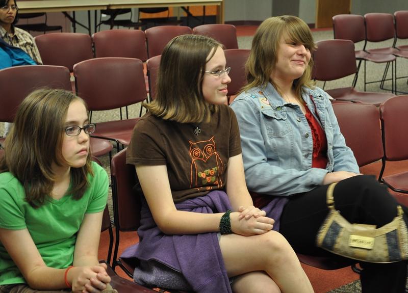 teens at Ghost Busters presentation.jpg