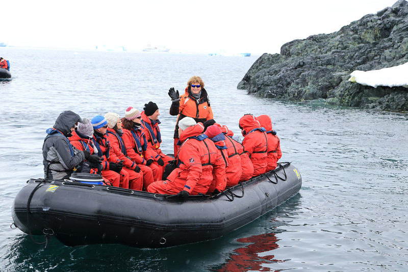 Antarctica - Jan 2013 - Sergey Vavilov Circle Trip, The One Ocean Expedition staff:   Liz Calhoun