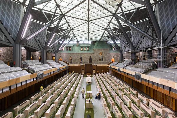 Chambre temporaire dans l'édifice de l'Ouest – Mai 2018