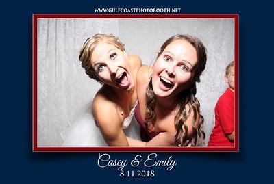 Emily & Casey Wedding Reception Aug 11, 2018
