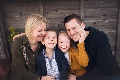 Family photo shoot Rachel Vanoven
