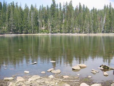 Camping Lassen 4th July 2008