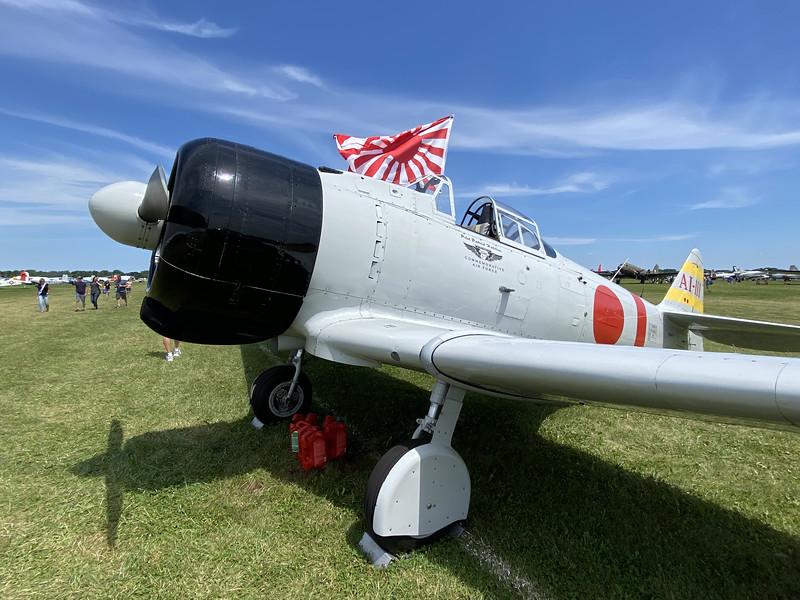 Replica of a Japanese Zero