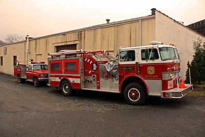 Fort Lee Engine 6 & Sharon FD