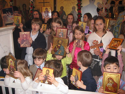 Community Life - Sunday of Orthodoxy - March 8, 2009