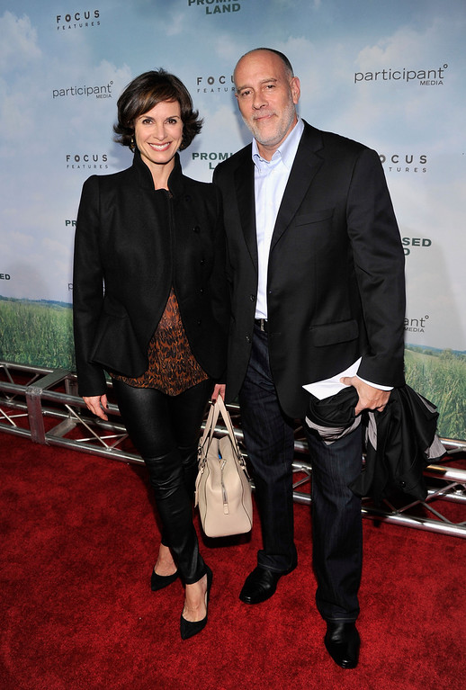 ". NEW YORK, NY - DECEMBER 04: Elizabeth Vargas (L) and Marc Cohn attend ""Promised Land\"" premiere at AMC Loews Lincoln Square 13 theater on December 4, 2012 in New York City.  (Photo by Stephen Lovekin/Getty Images)"