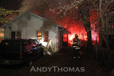 House Fire 2110 N. Fairview (11/15/10)