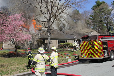 2nd Alarm Easton Ma. 2 Eastwood Lane 04/10/2021