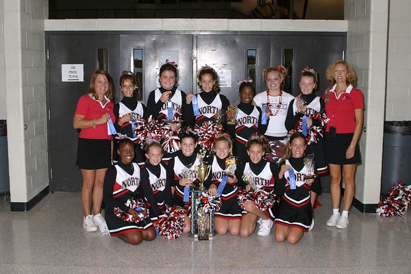 1st Place 6th Grade Cheer-off Champions