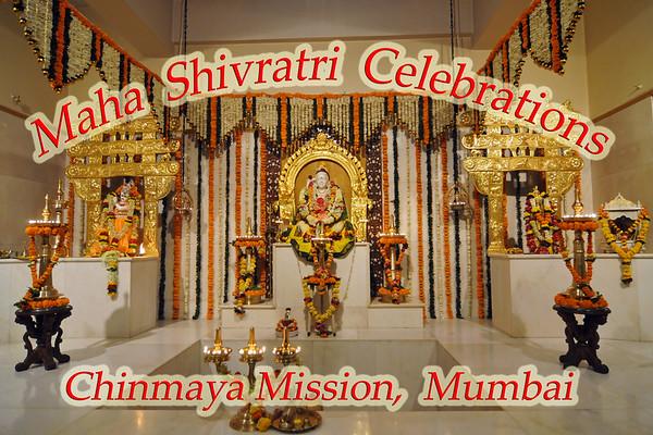 Maha Shivaratri Celebration at Chinmaya Mission, Sandeepany, Mumbai. Mar 2011