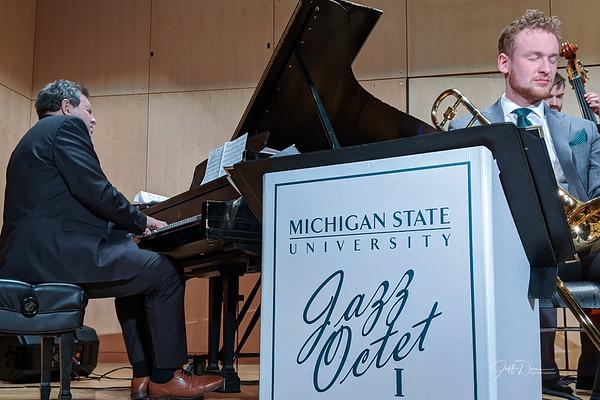 MSU Jazz Octet I w/ Bruce Barth - Carr Center 2-8-2020
