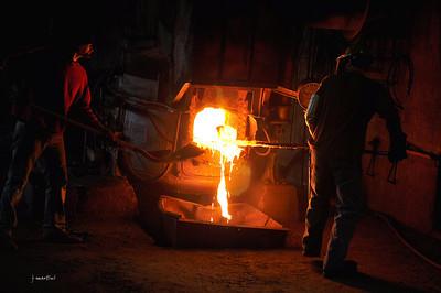 Grass Valley Steel Cast