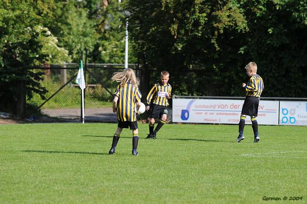 Voetbal toernooi VV DOKKUM 6 juni 2009