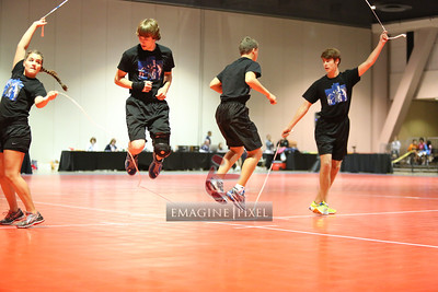 6/22 Double Dutch Pairs Freestyle Station 3 Heat 8-11