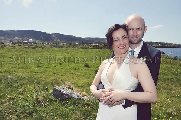 CICELY & SEAN : CONNEMARA, IRELAND : MAY 2013