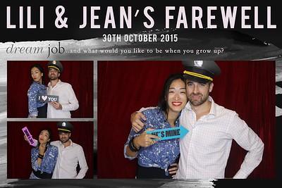 Lili & Jean's Farewell 30 Oct 2015
