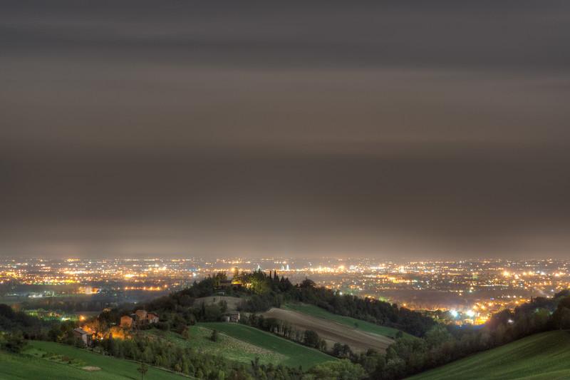 Reggio by Night - Albinea, Reggio Emilia, Italy - October 4, 2012