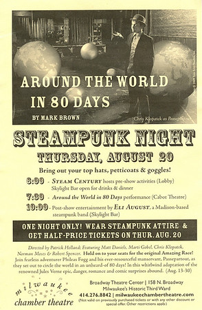 Milwaukee Chamber Theater • Steampunk Night