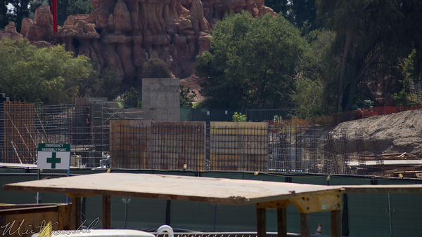 Disneyland Resort, Disneyland, Mickey, Friends, Parking, Structure, Star Wars Land, Construction, Star, Wars