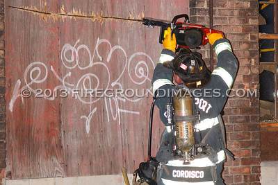 Cherry St. Fire (Bridgeport, CT) 8/30/11