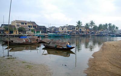 Thu Bon River in Hoi An - March 2008 pt. 2