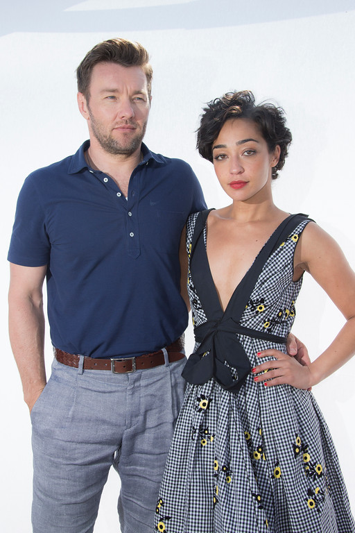 . Actors Joel Edgerton and Ruth Negga pose for portraits for the film Loving at the 69th international film festival, Cannes, southern France, Tuesday, May 17, 2016. (AP Photo/Joel Ryan)