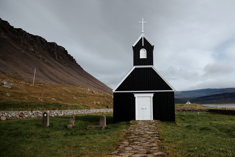 Church at Saurbær.