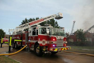 Allen, TX. Residential Structure fire
