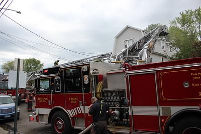 House fire - 918 Maplewood Ave Bridgeport, CT - 5/28/2021