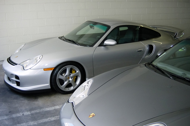 This rare 2002 Porsche 911 GT2 belongs to The Man.  Jason, the head Dog (and one of Naughty Dog's cofounders) replaced his former daily driver (a defective BMW M5) with this fast accelerating beast