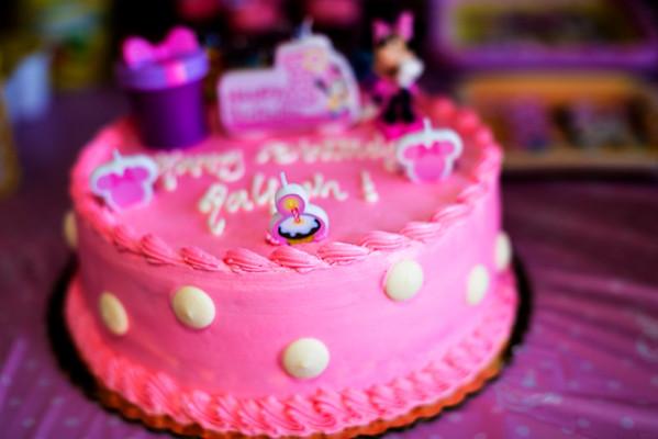 Aaliyah 1st Birthday