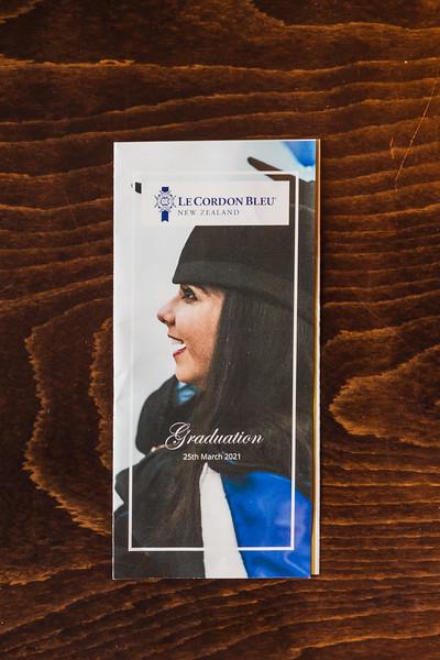 Le Cordon Bleu - Graduation 25th March 2021