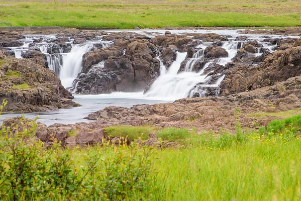 Waterfall En Route Breiðavík