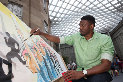 Aniekan Udofia at the Smithsonian (August 20, 2016)