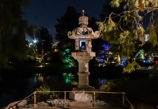 Japanese Friendship Garden Illumination 5 December 2020