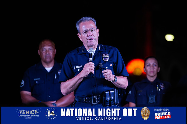 08.03.19 National Night Out at the Venice Sign
