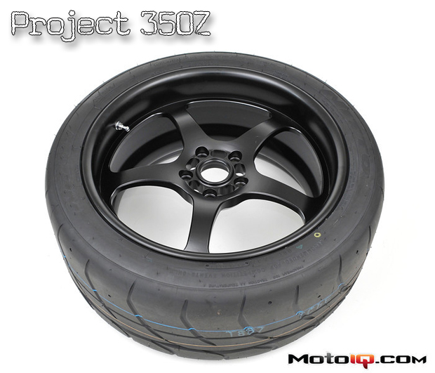 Project Nissan 350Z: The Birth of our Motegi Trak Lite Wheels with Nitto NT01 Tires