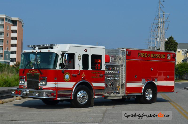 Chesapeake City Rescue 2: 2009 Spartan/Rosenbauer 1250/500/30