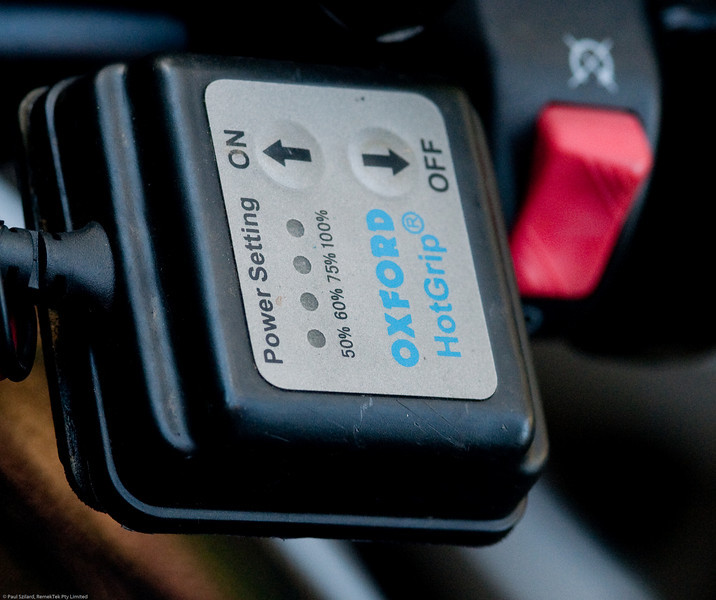 Oxford heated grips multi-stage controller