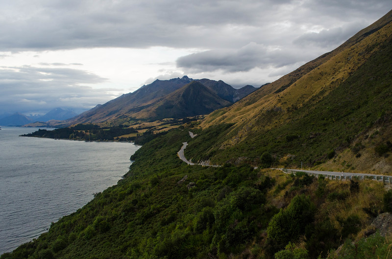 Lake Wakatipu Drive on the Way to Dart River