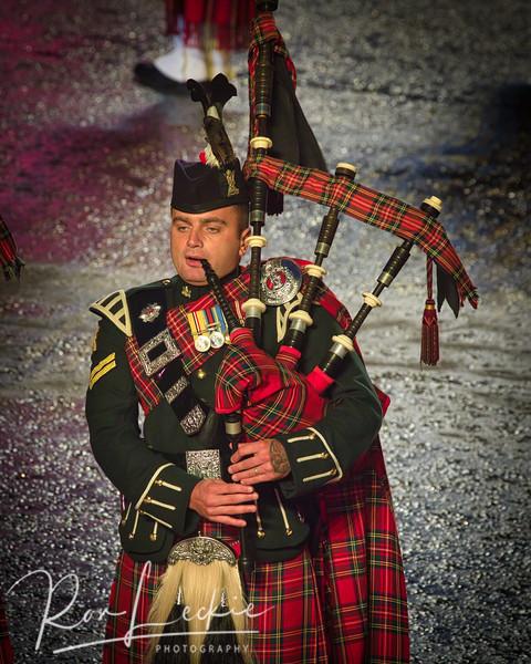 Edinburgh Royal Military Tattoo - at the Castle