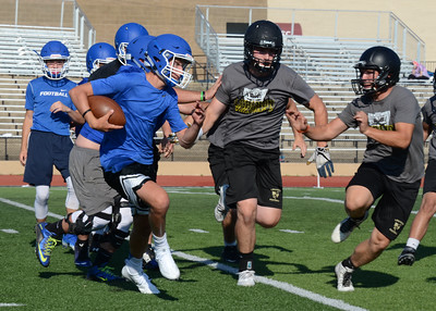 Football - LHS 2016-17 - Marshfield 7 on 7