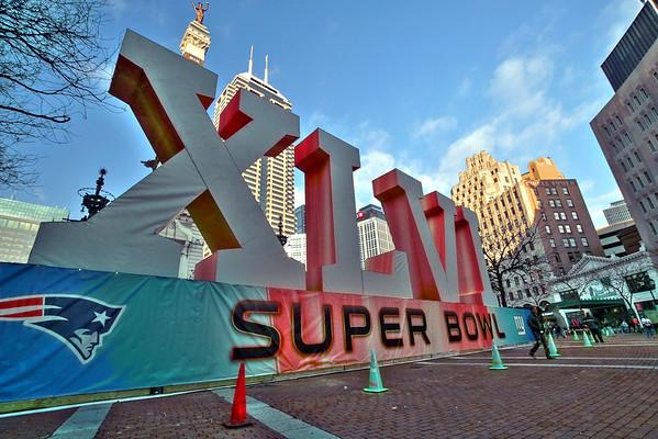 Super Bowl Village, Indianapolis, 2012