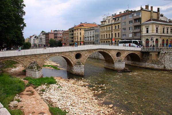 Sarajevo, Bosnia - August 2014
